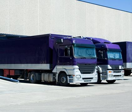 Service de transport de colis en express par camions